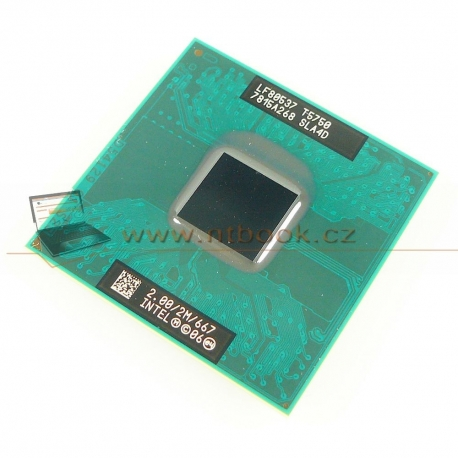 Intel® Core™2 Duo T5750 2.0GHz
