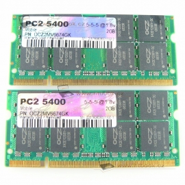 kit 2x2GB DDR2 OCZ 667MHz