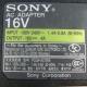 napájecí adaptér Sony PCGA-AC16V6 16V / 4A / 60W