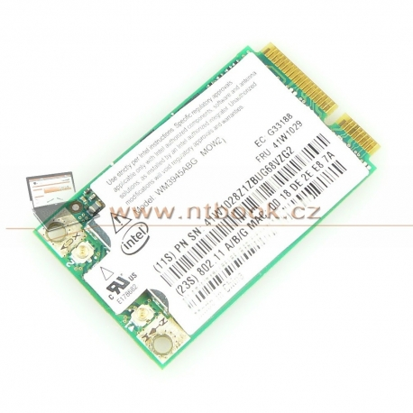 WiFi Intel PRO/Wireless WM3945ABG 41W1029 Lenovo