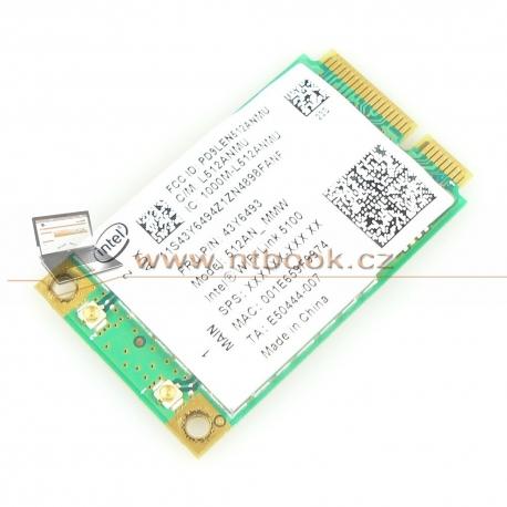 WiFi Intel WiFi Link 5100 480985-001 a/b/g/draft-n Lenovo